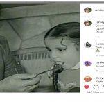 رانيا محمود ياسين تنعى والدها بصورة من الطفولة
