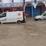 بوزنيقة.. مياه الأمطار تفضح هشاشة البنية التحتية
